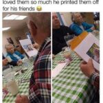 Wholesome Memes Wholesome memes, Sunday text: owe my gran pa memes an e loved them so much he printed them off for his friends e  Wholesome memes, Sunday
