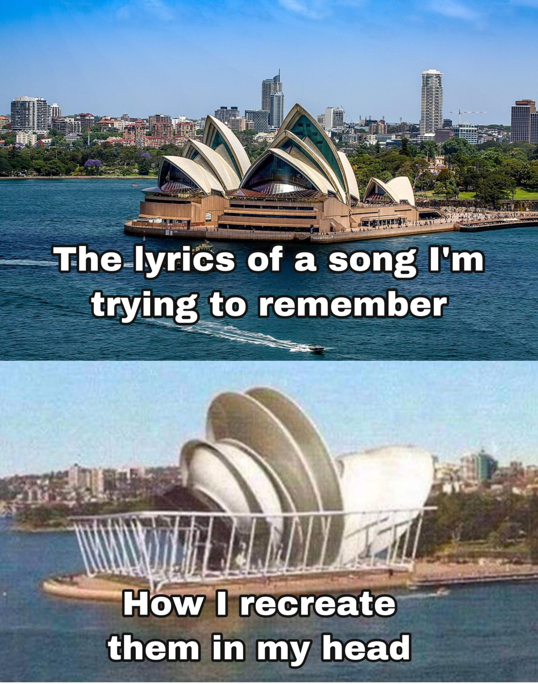 Funny, SOH, Sydney, Pretty, French, Bobby other memes Funny, SOH, Sydney, Pretty, French, Bobby text: ——TheeIyrics of a song I'm trying to remember How I recreate themiin my head