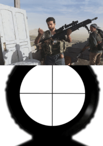 Call of duty Headshot Gun meme template