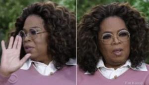 Oprah reconsidering Opinion meme template