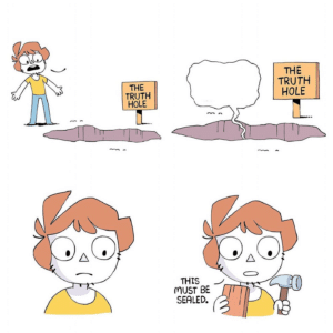 Pit of truth comic (blank) Shen meme template
