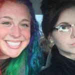 Rainbow girl vs. dark girl Vs meme template blank