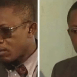 Black man removing sunglasses Black Twitter meme template blank