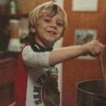 Kid stirring the pot Opinion meme template blank