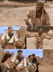 The Mummy loading gun (blank) Gun meme template