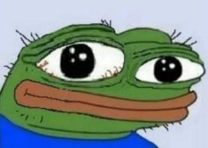 Very sad Pepe Sad meme template