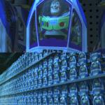 Buzz Lightyear in store alt Pixar meme template blank  Pixar, Opinion, Clone, Toy Story, Buzz Lightyear, Redundant, Multiple