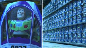 Buzz Lightyear in store Opinion meme template