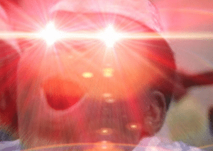 Goodburger laser eyes Black Twitter meme template